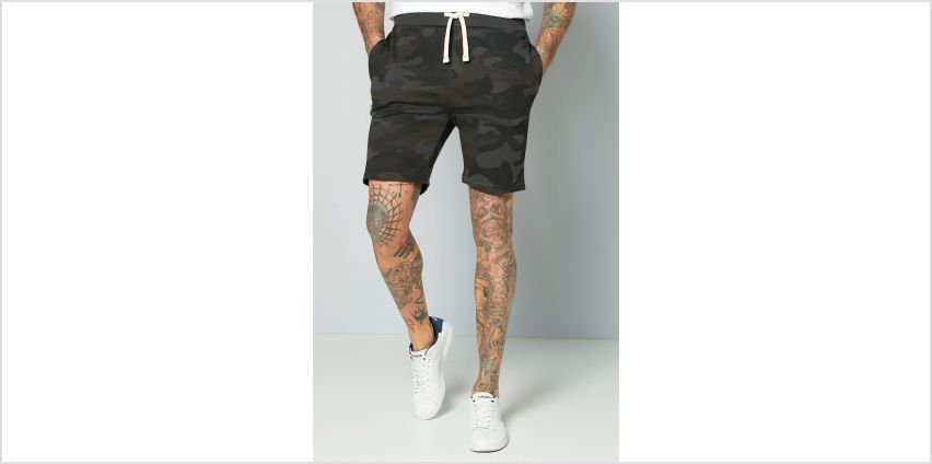 Jack and Jones Black Sweat Shorts from Studio
