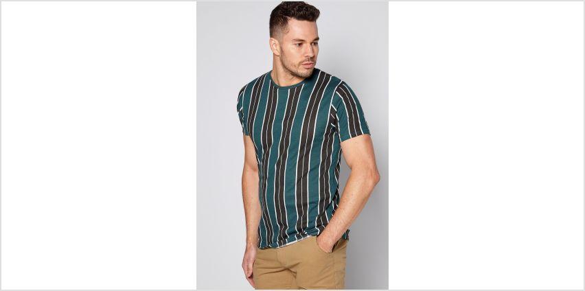 Vertical Stripe T-Shirt from Studio