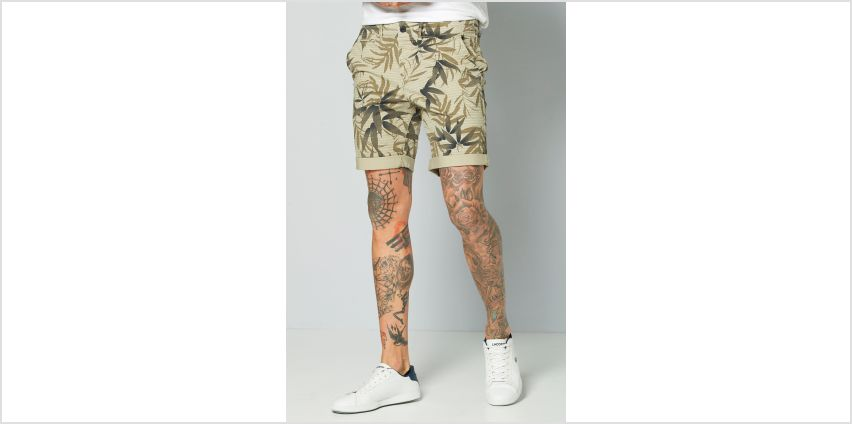 Jack and Jones Printed Chino Shorts from Studio