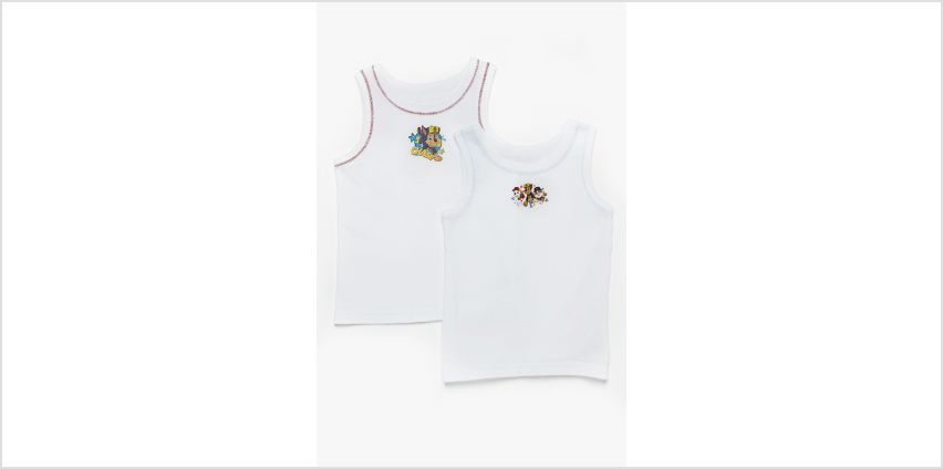 Young Boys Paw Patrol Vest Tops from Studio