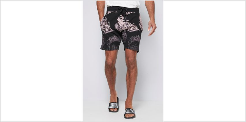 Graded Leaf Print Shorts from Studio