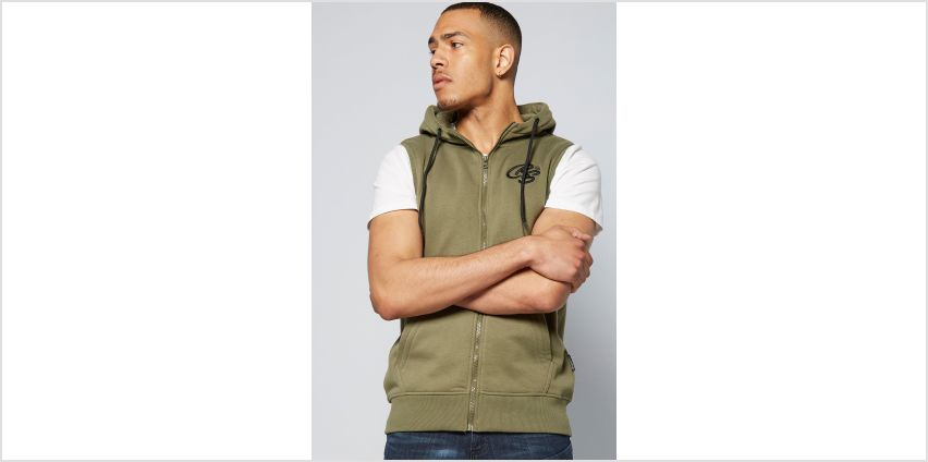 CRS55 Hooded Gilet from Studio