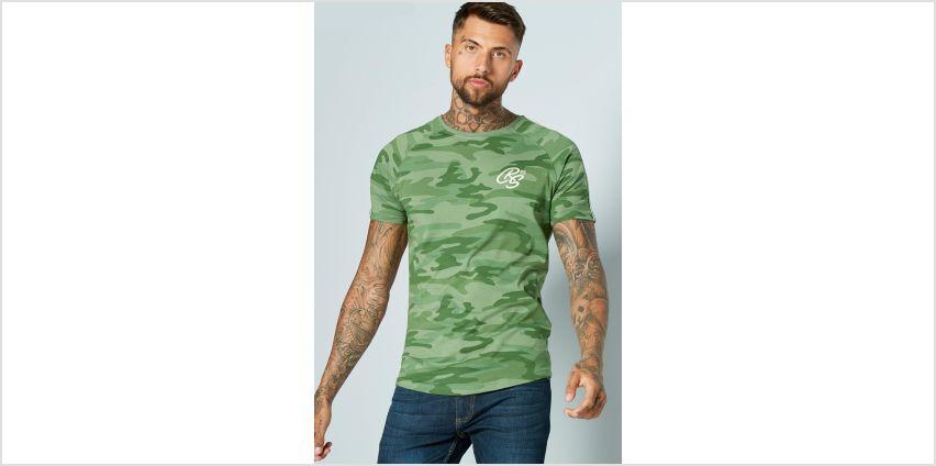 CRS55 Crew Camo T-Shirt from Studio