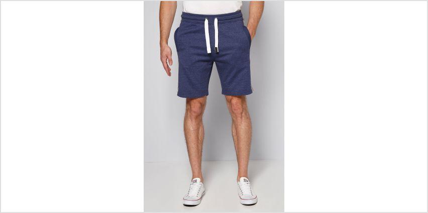 Studio Navy Marl Ross Sweat Shorts from Studio