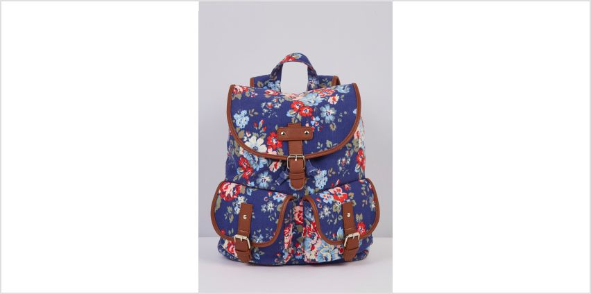 Canvas Floral Ditsy Backpack from Studio