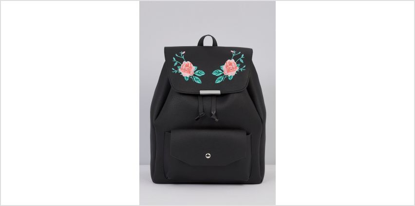 Embroidered Backpack from Studio
