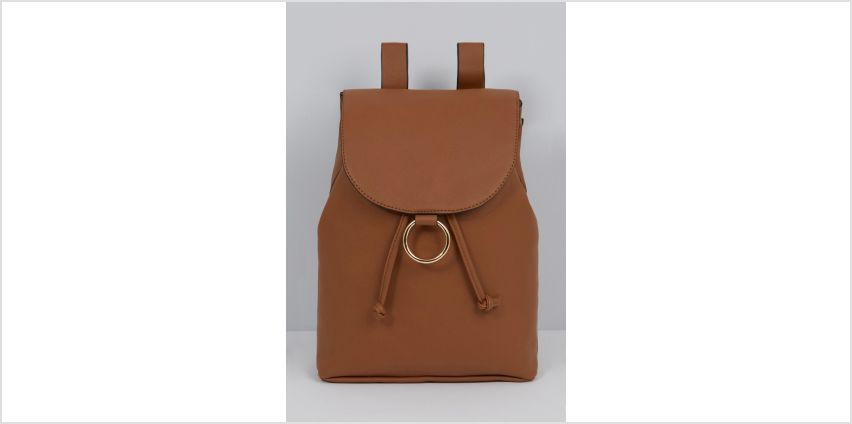 D-Ring PU Backpack from Studio