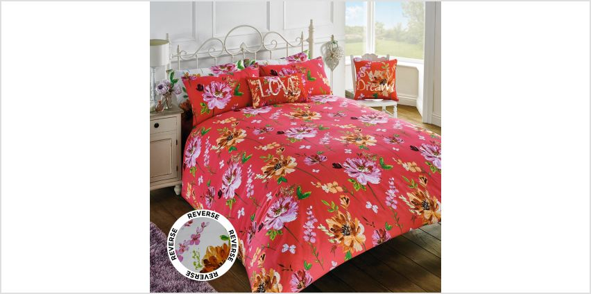Summertime Reversible Duvet Set from Studio