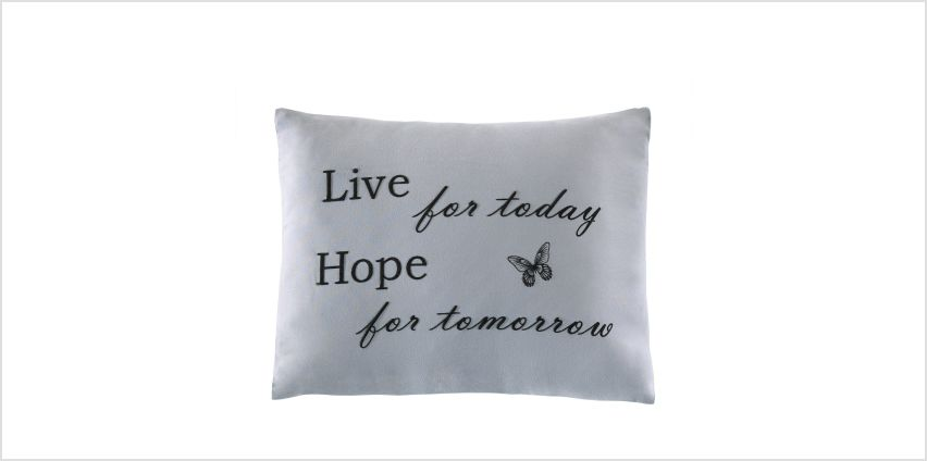 Live Hope Smile Filled Cushion from Studio