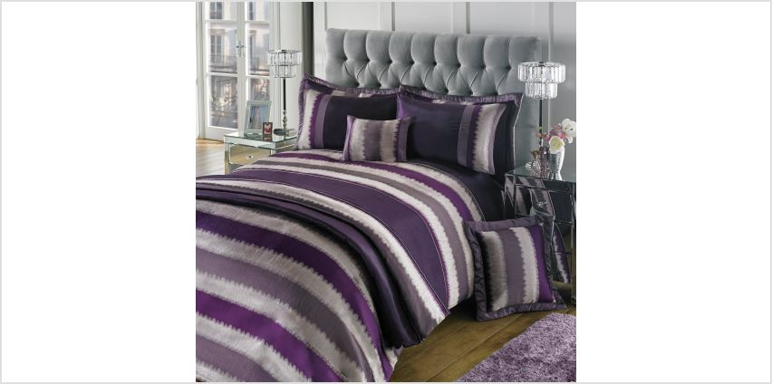 Cambridge Stripe Slub Jacquard Pillowshams from Studio