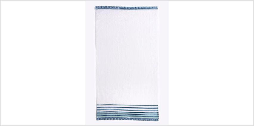 Albany Stripe Header Towels from Studio