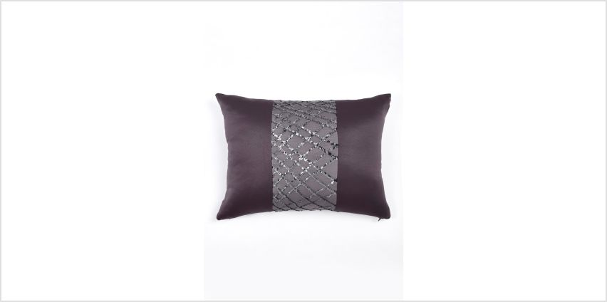 Sapphire Filled Boudoir Cushion from Studio