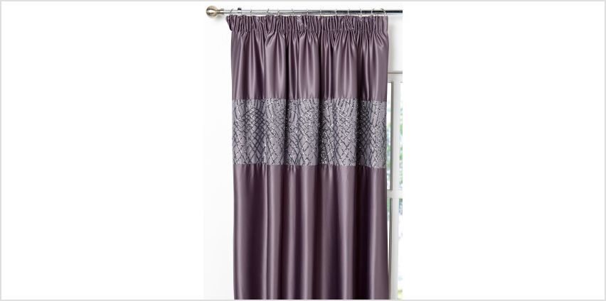 Sapphire Pencil Pleat Curtains from Studio
