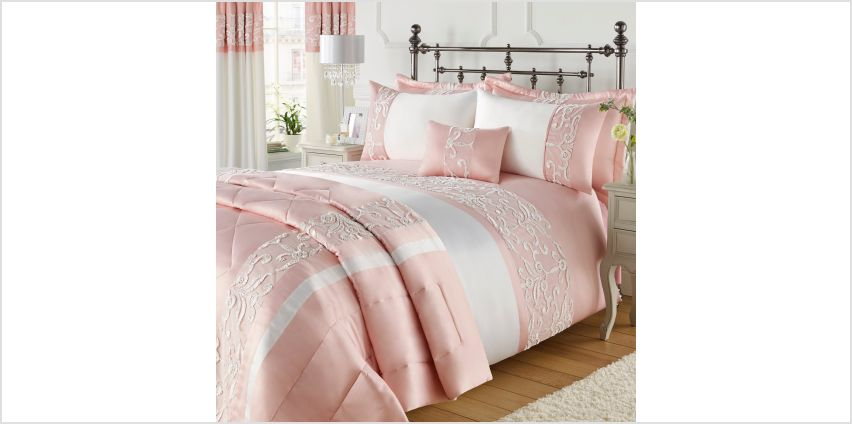 Ribbon Lace Bedspread from Studio