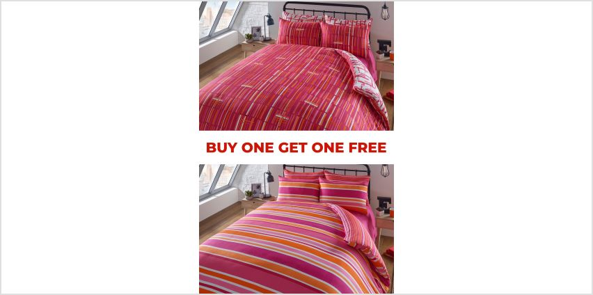 Marley Stripe Duvet Set BOGOF from Studio
