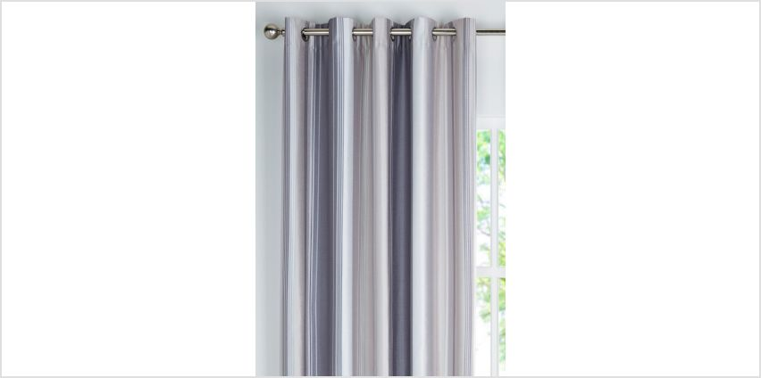 Denver Faux Silk Blackout Eyelet Curtains from Studio