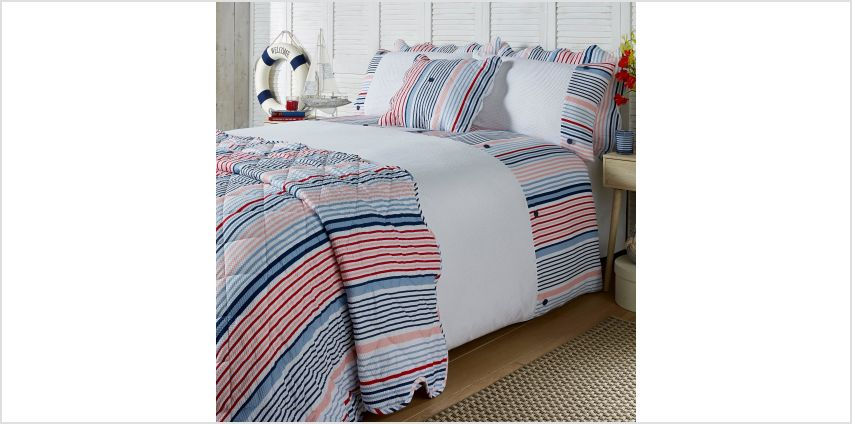 Hanover Stripe Seersucker Cushion Cover from Studio