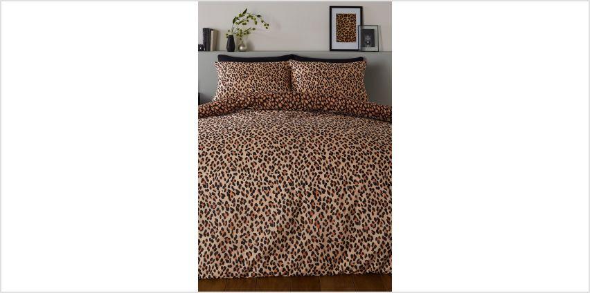Leopard Duvet Set from Studio