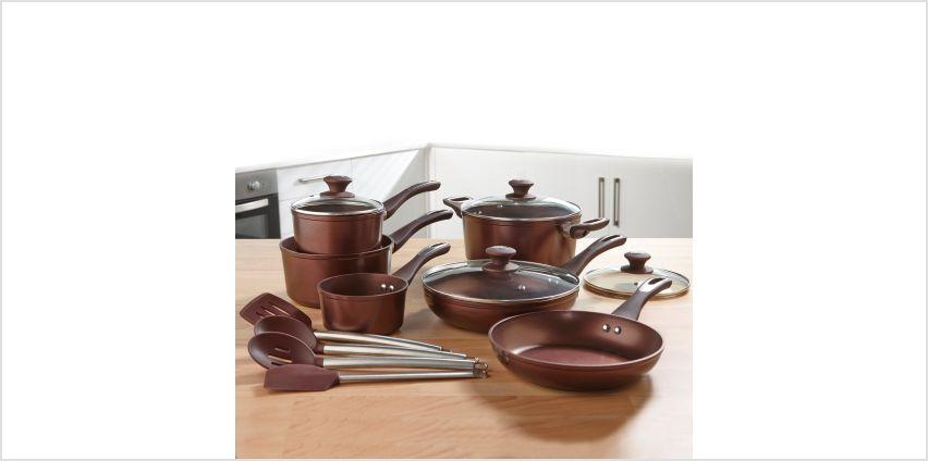 10-Piece Bronze Cookware Set from Studio