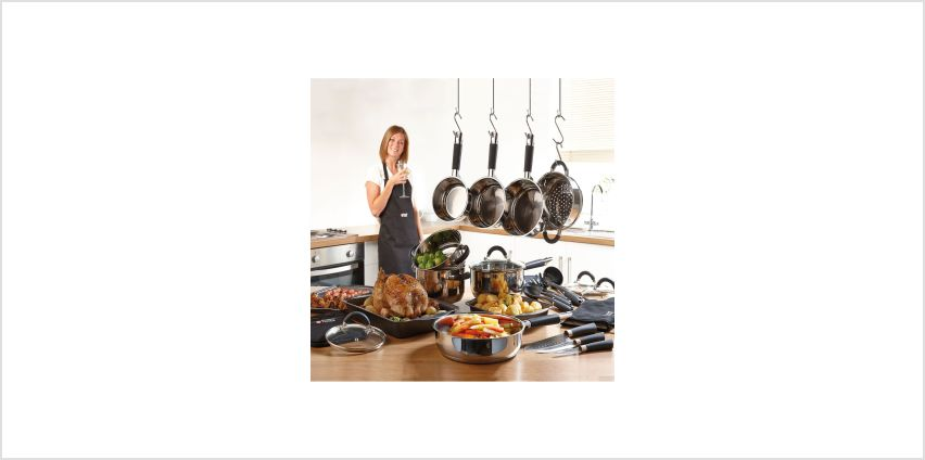 22-Piece Russell Hobbs Cookware Set from Studio
