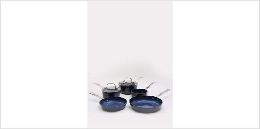 5-Piece Forged Pan Set from Studio