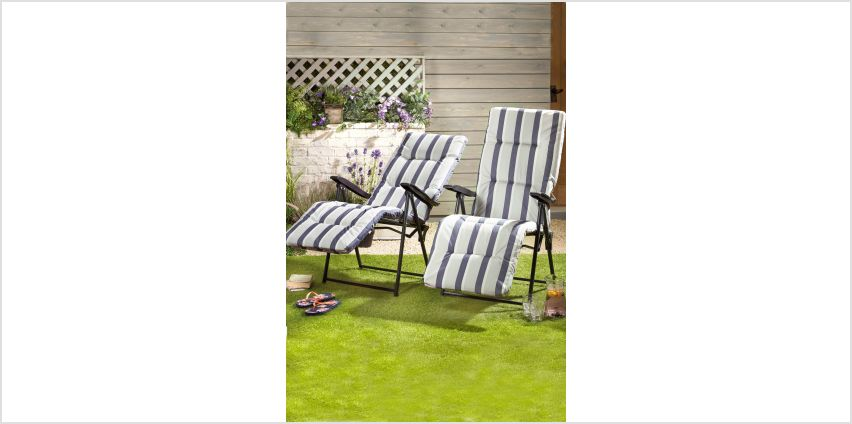 Glencoe Set of 2 Cushioned Relaxers from Studio