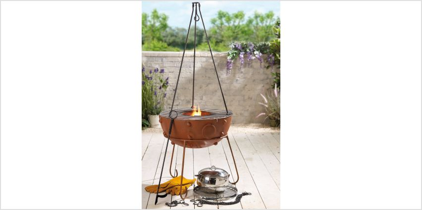 Gardeco Theydon 50cm Fire Pit Bundle from Studio