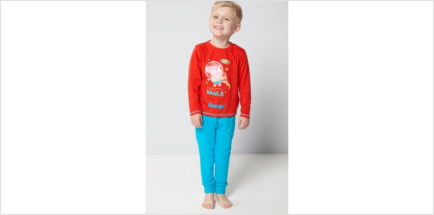 Young Boys Personalised George Pig Pyjamas from Studio