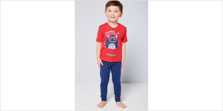 Boys Monster Personalised Pyjamas from Studio