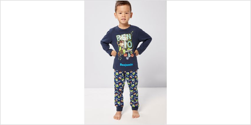 Boys Personalised Ben 10 Hero Pyjamas from Studio