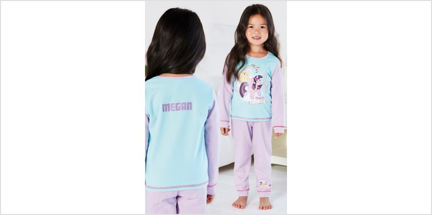 Young Girls Personalised My Little Pony Magical Friends Pyjamas from Studio