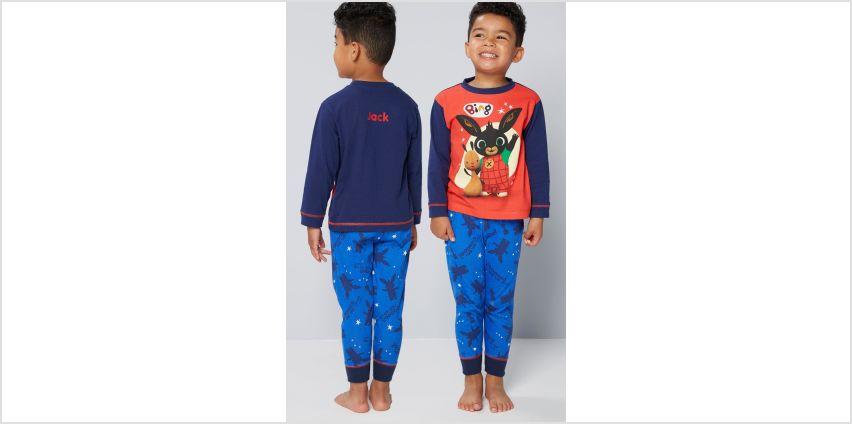 Boys Personalised Bing Pyjamas from Studio