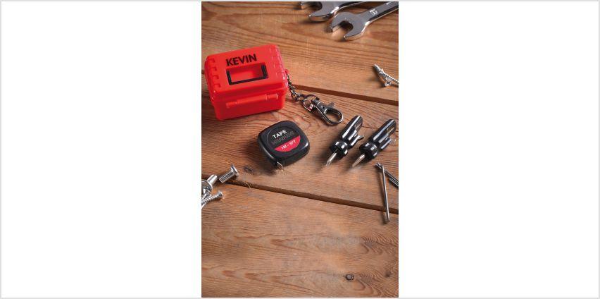 Personalised Mini Tool Kit from Studio