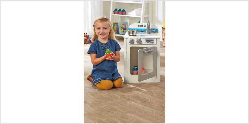 Personalised Wooden Junior Kitchen from Studio