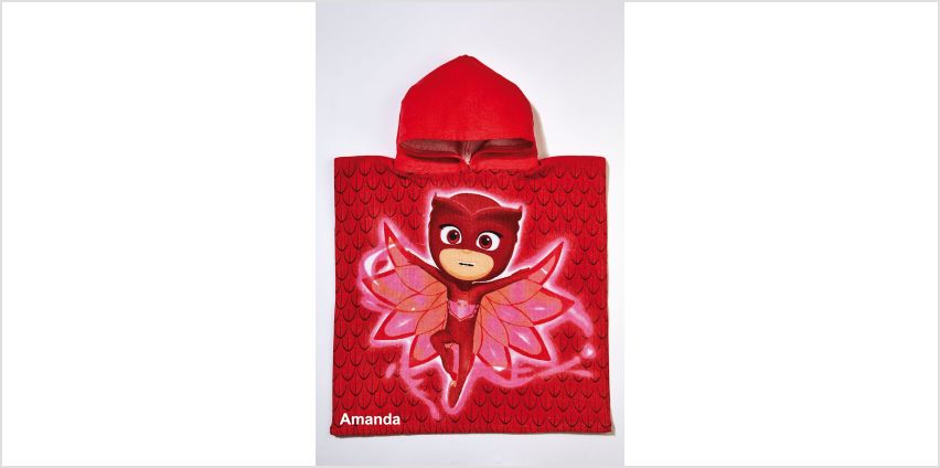 Personalised PJ Masks Owlette Poncho from Studio