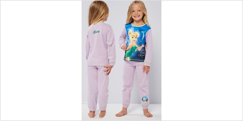 Girls Personalised Tinker Bell Pyjamas from Studio
