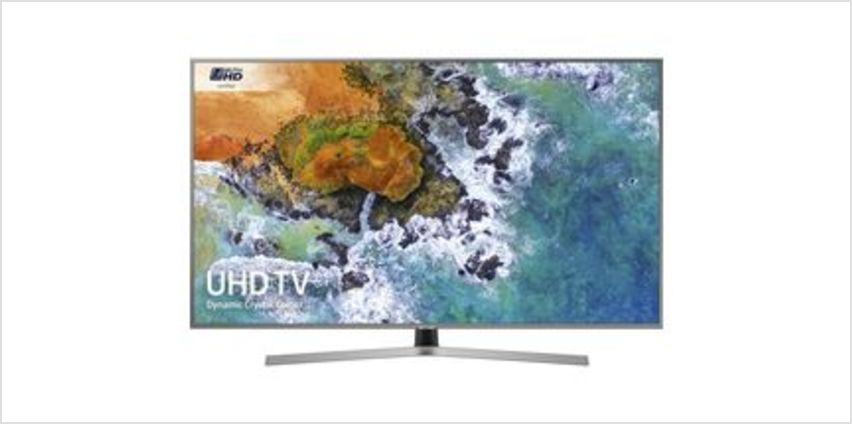"UE50NU7470 50"" Smart 4K Ultra HD HDR LED TV from Currys"