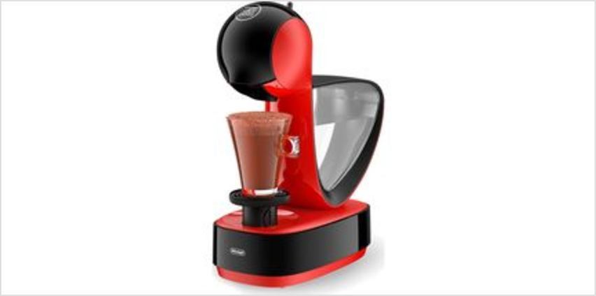 by De'Longhi Infinissima EDG260.R Coffee Machine - Red & Black from Currys