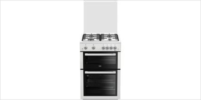 XTG611W 60 cm Gas Cooker - White from Currys