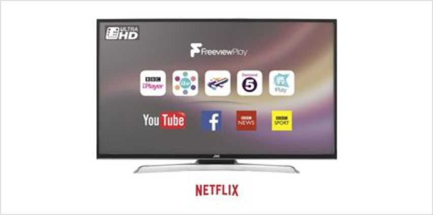 "LT-49C870 49"" Smart 4K Ultra HD HDR LED TV from Currys"