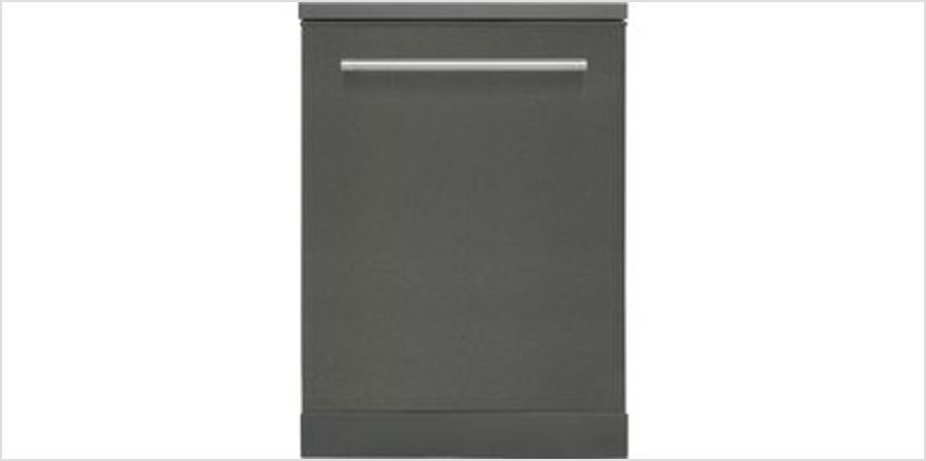 KDW60T18 Full-size Dishwasher - Black Steel from Currys