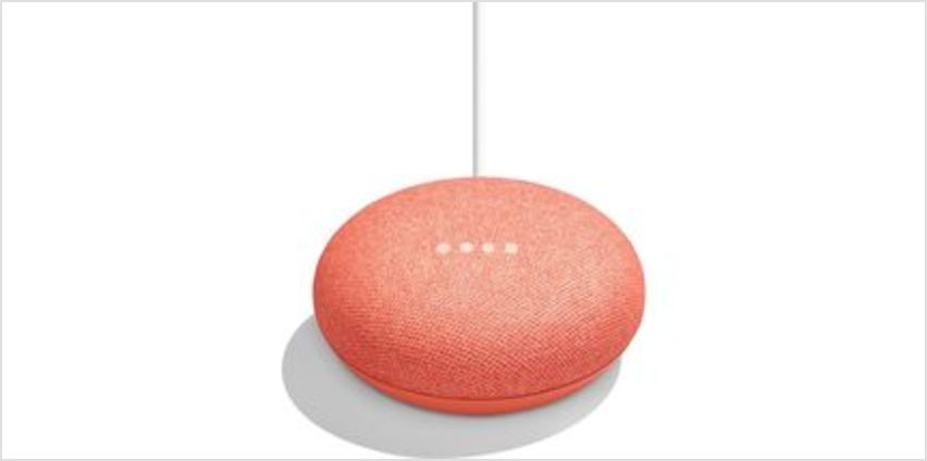 Home Mini - Coral from Currys