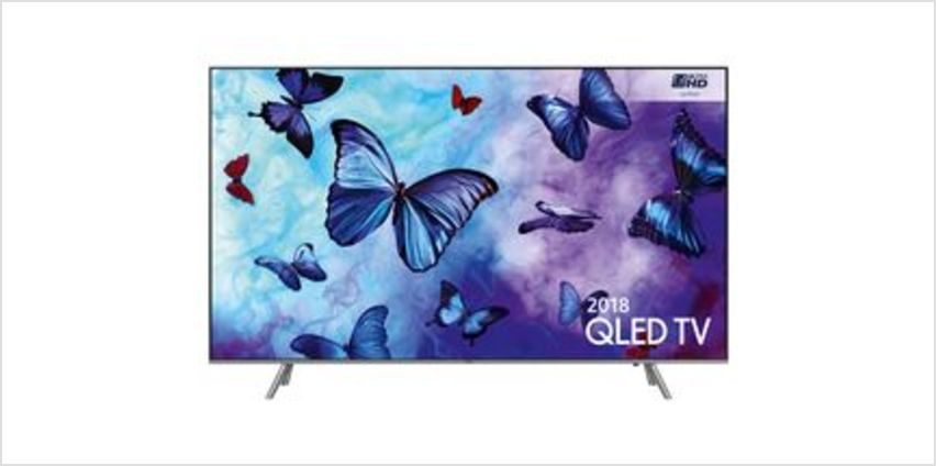 "QE75Q6FNATXXU 75"" Smart 4K Ultra HD HDR QLED TV from Currys"