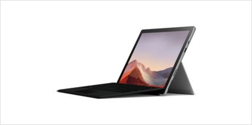 """12.3"""" Intel® Core™ i5 Surface Pro 7 with Black Type Cover - 128 GB SSD, Platinum from Currys"""