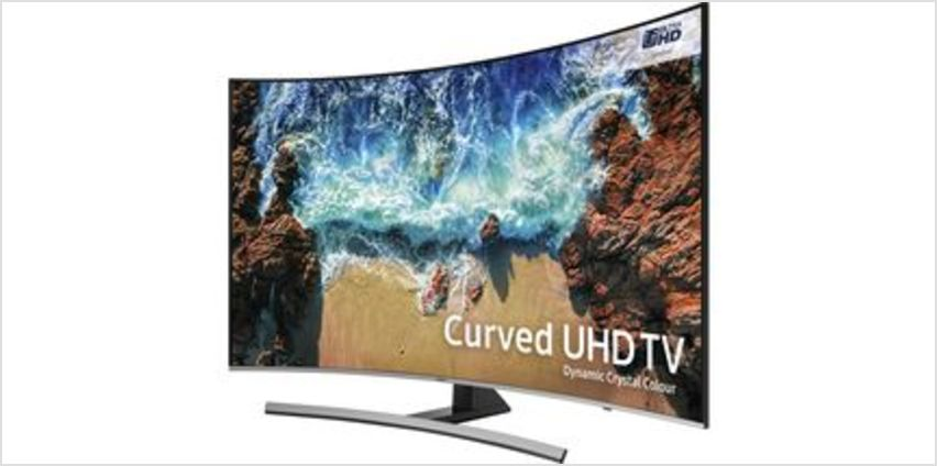 "UE55NU8500 55"" Smart 4K Ultra HD HDR Curved LED TV from Currys"