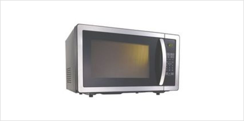 K25MSS11 Solo Microwave - Black & Stainless Steel from Currys