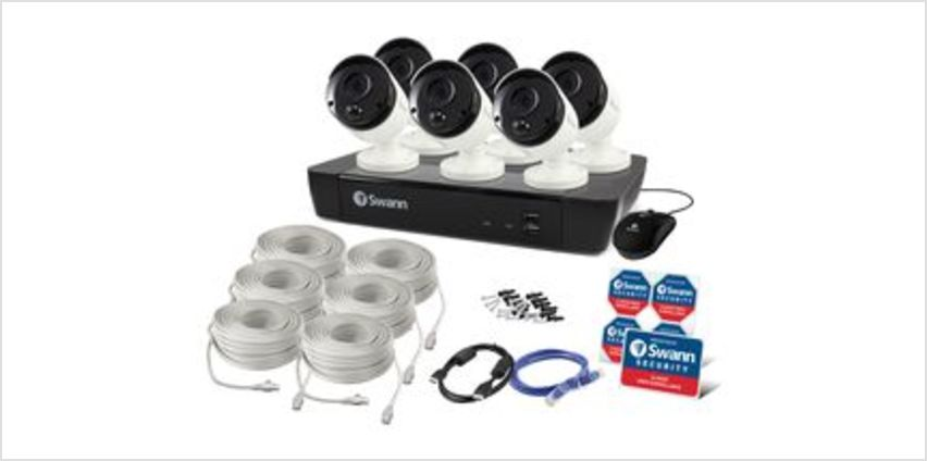 SWNVK-885806-UK 8-Channel 4K Ultra HD Security System - 2 TB, 6 Cameras from Currys