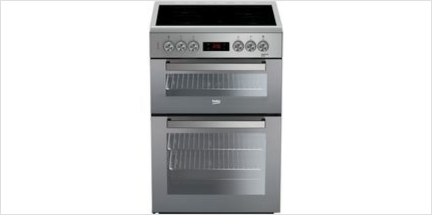 Pro XDC663SM 60 cm Electric Cooker - Silver from Currys