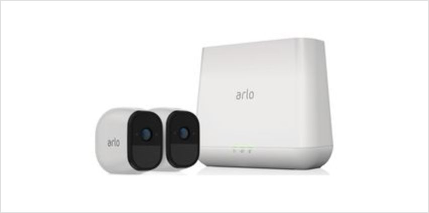 Pro VMS4230-100EUS Wireless CCTV System - 2 Cameras from Currys