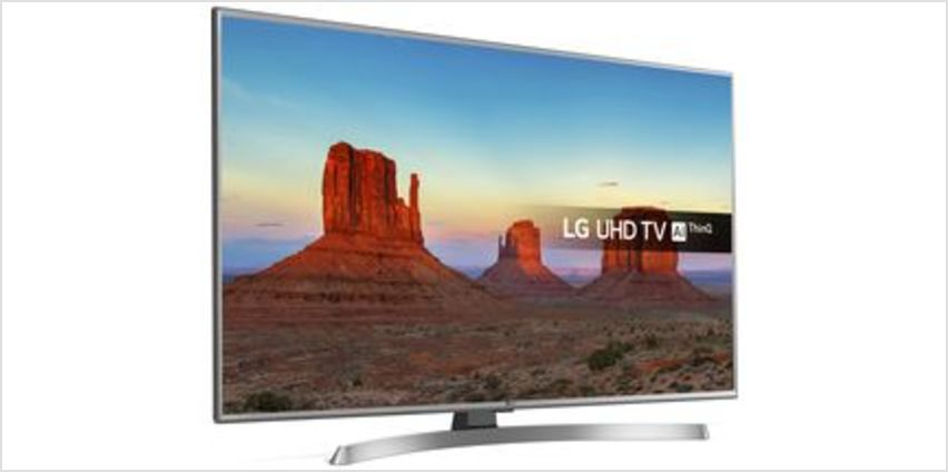 "50UK6950PLB 50"" Smart 4K Ultra HD HDR LED TV from Currys"